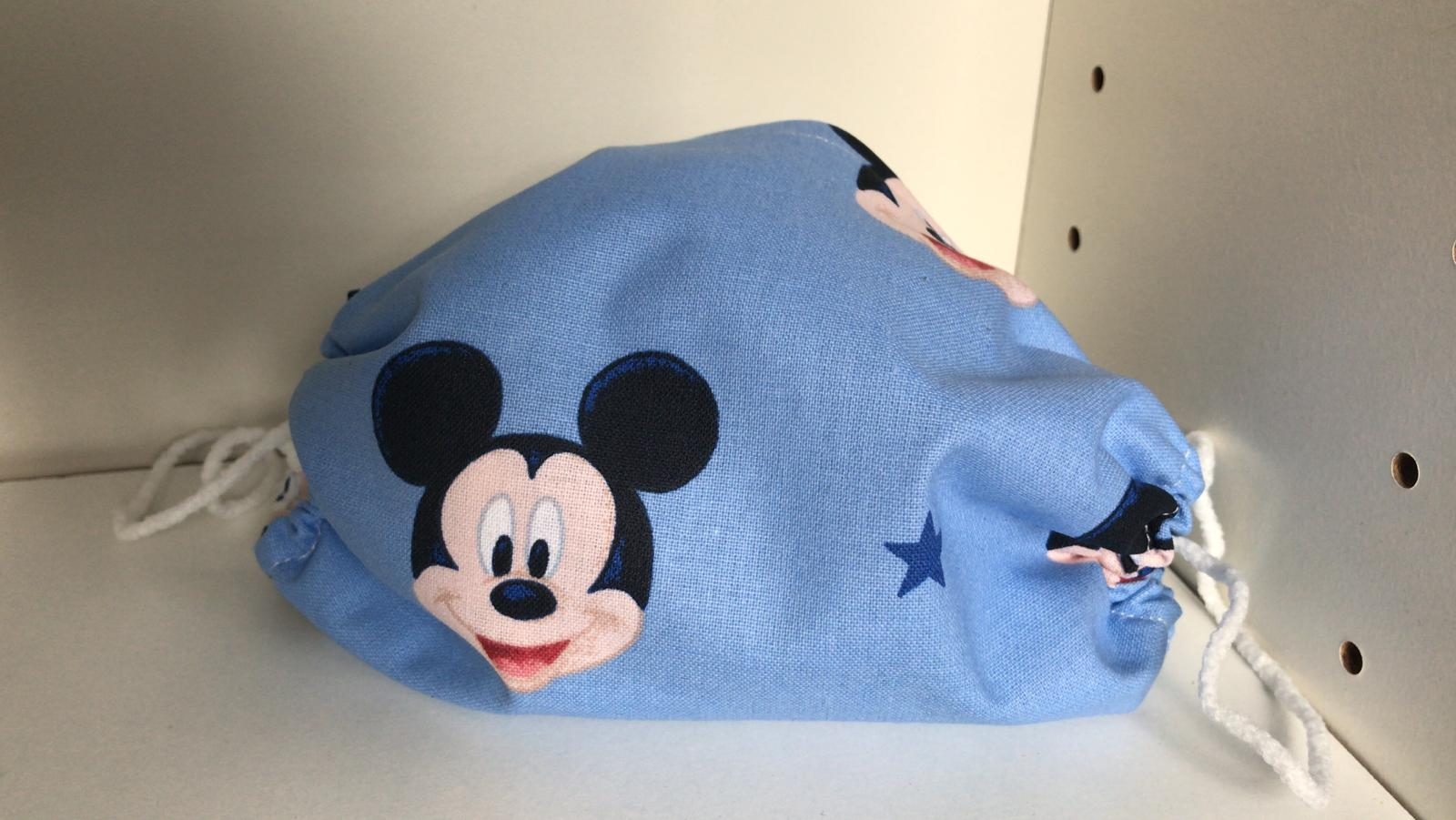 Gesichtsmasken – Limitiert Micky in Blau