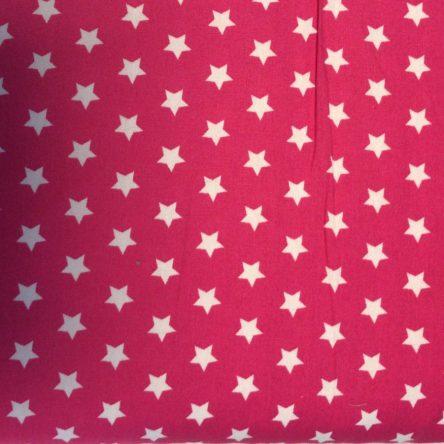 Stoff Rot mit Sternchen