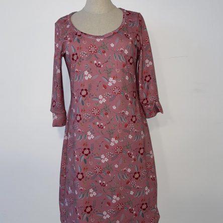 selbstgenähtes rosa Kleid Gr. 36