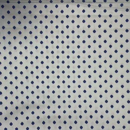 Stoffrest – hellgrün/blau – 1,2m x 1,1m