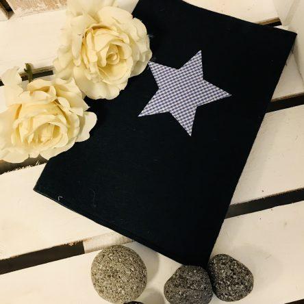 U-Heft-Hülle aus Filz – Stern